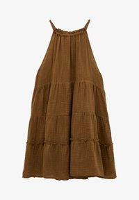 PULL&BEAR - Day dress - mottled beige - 6
