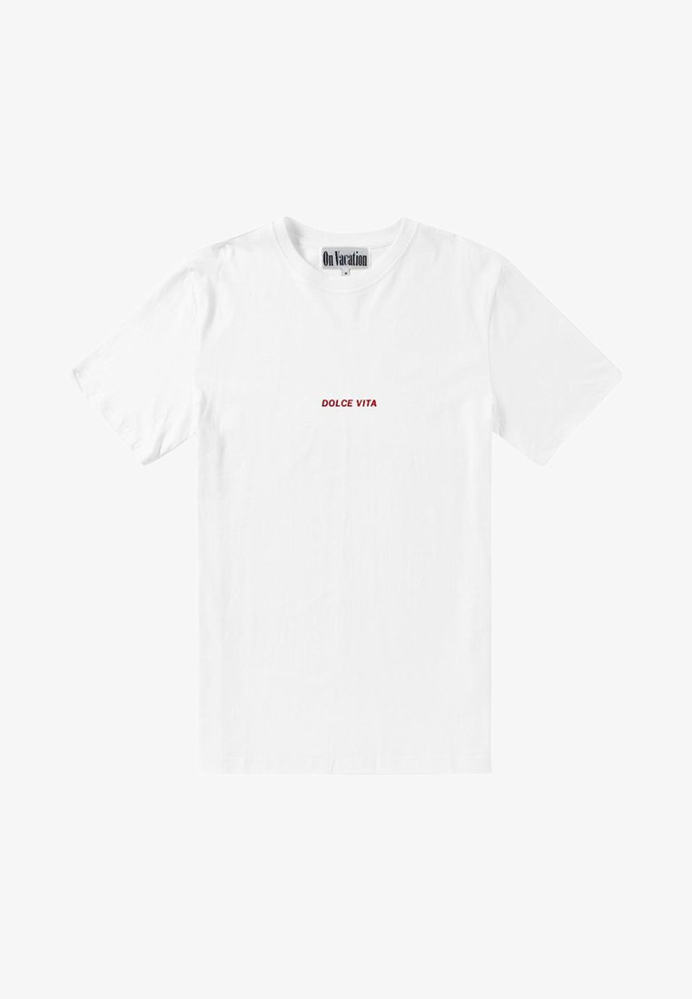 On Vacation T-Shirt print - white/weiß itppgc