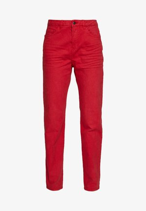 MODERN - Jeans Tapered Fit - dark red