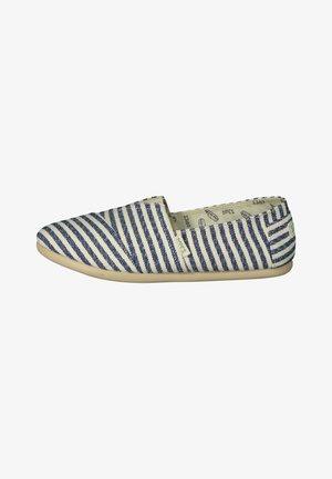 CLASSIC SURFY - Półbuty wsuwane - White, Blue