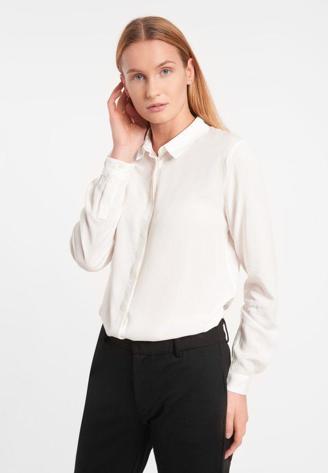 Button-down blouse - snow white/off white