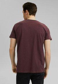 Esprit - Basic T-shirt - berry red - 2