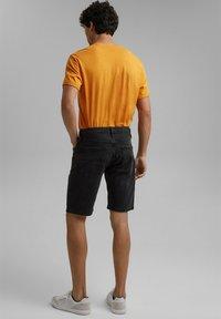 edc by Esprit - Denim shorts - black dark washed - 2