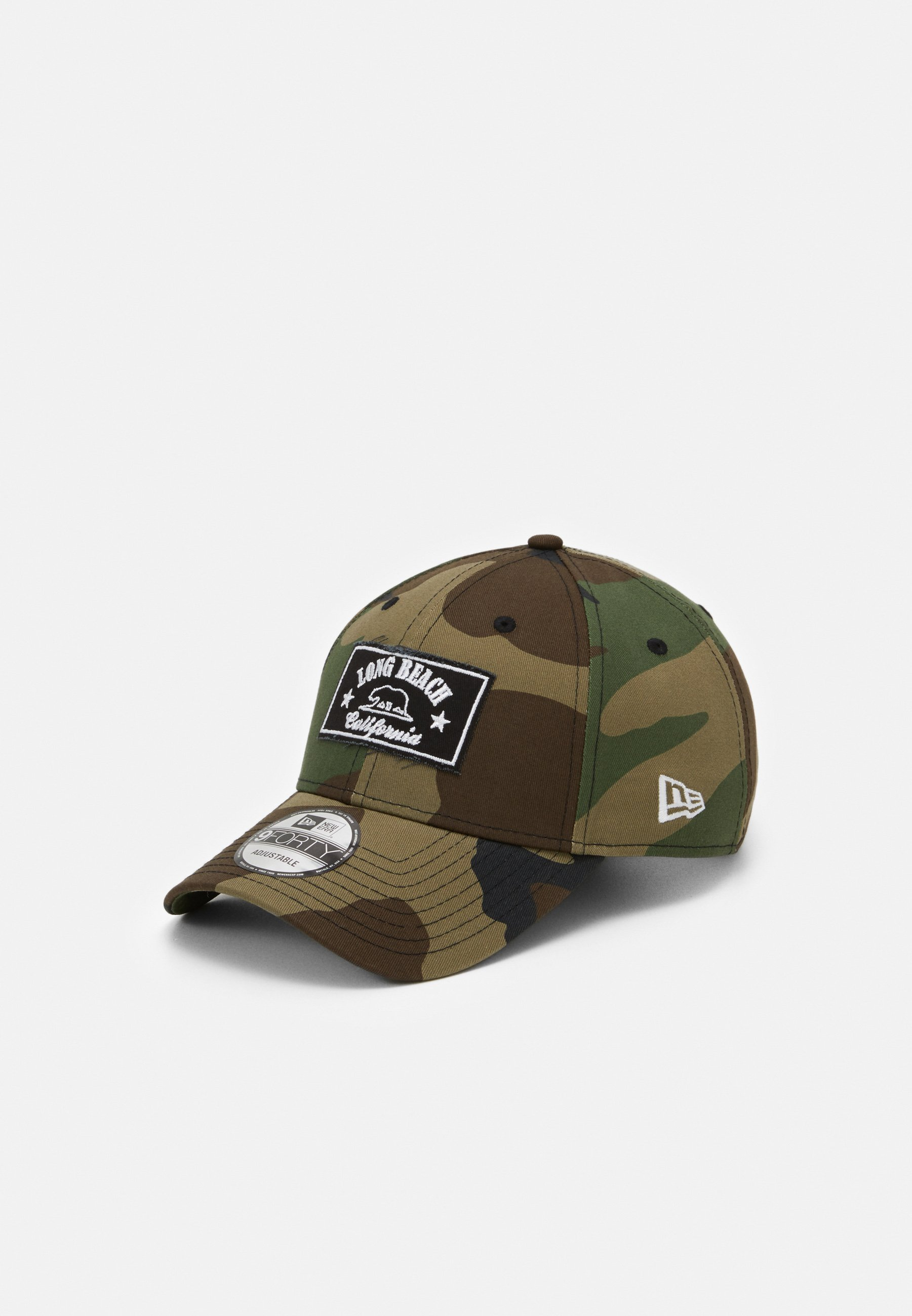New Era Long Beach - Cap Black/schwarz
