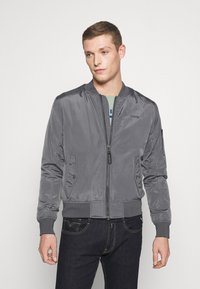 Schott - Bomber Jacket - steel grey - 0