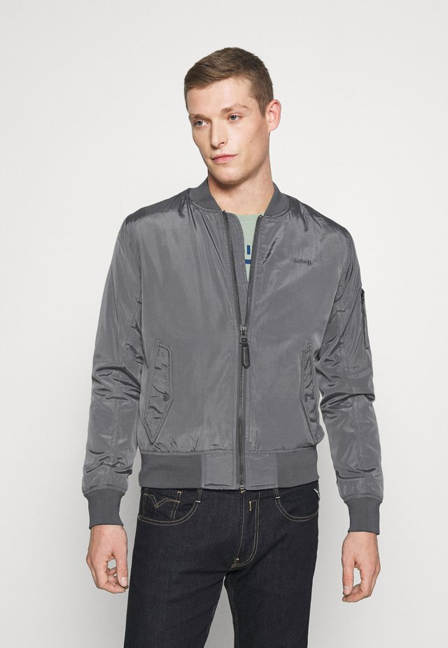 Bomber Jacket - steel grey