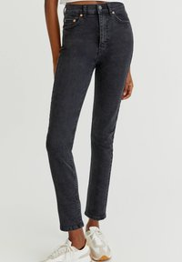PULL&BEAR - Jeans relaxed fit - black - 0