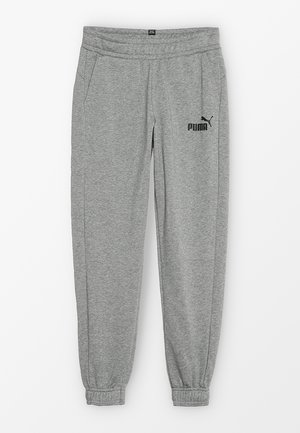 LOGO PANTS - Tracksuit bottoms - medium grey heather