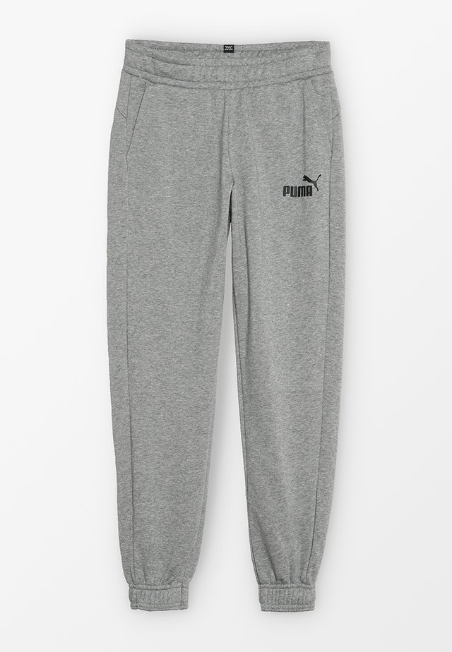 LOGO PANTS - Pantalones deportivos - medium grey heather