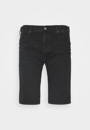 MA981B SHORT - Denim shorts - black delavè