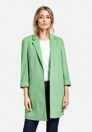 Short coat - grün/ecru/weiss gemustert