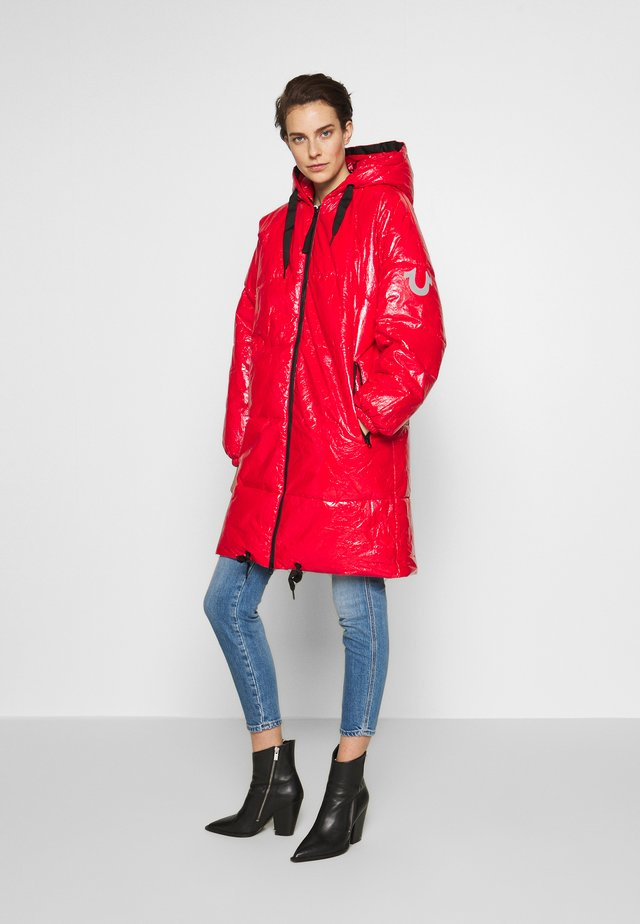 COAT - Parka - bright red