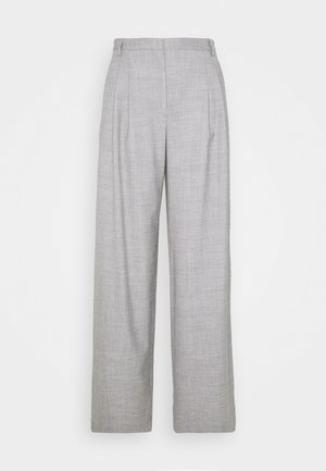 DALLAS PLEAT PANT - Bukse - light grey melange