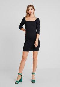 Even&Odd - Denní šaty - black - 1