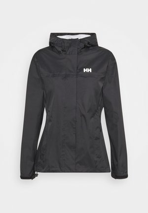 LOKE JACKET - Chaqueta Hard shell - black