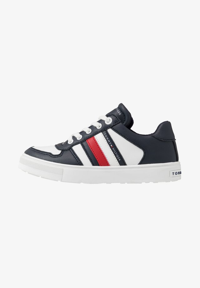Sneakers laag - blue/white/grey