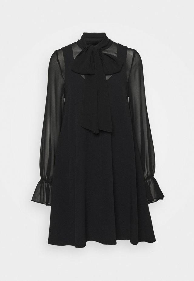 LORD - Korte jurk - schwarz