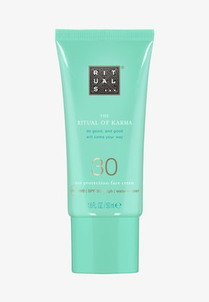 THE RITUAL OF KARMA SUN PROTECTION FACE CREAM SPF 30 - Sun protection - -
