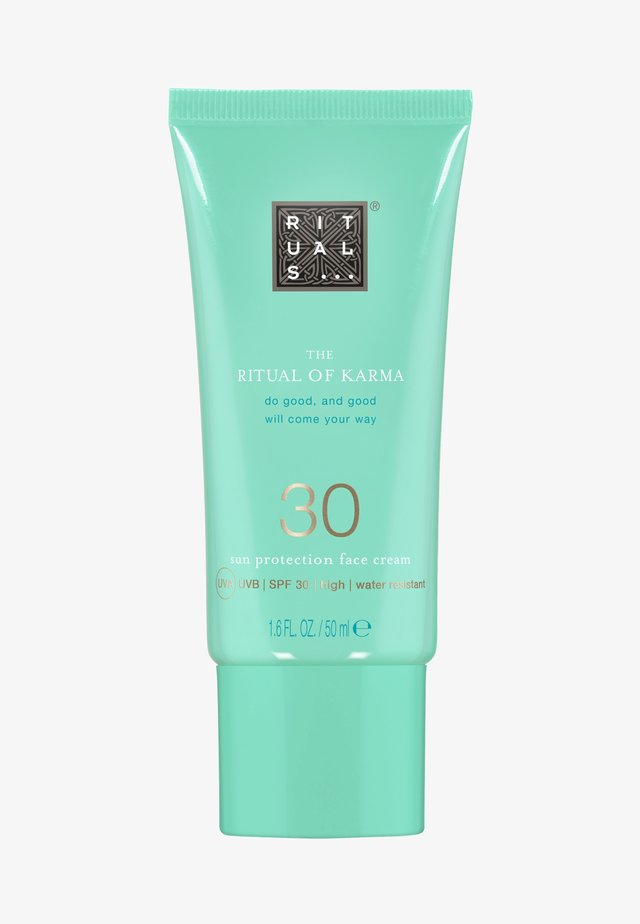 THE RITUAL OF KARMA SUN PROTECTION FACE CREAM SPF 30 - Sonnenschutz - -