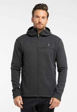 SWOOK HOOD - Fleece jacket - slate