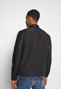 Only & Sons - ONSMATT MIX JACKET - Lehká bunda - black - 2