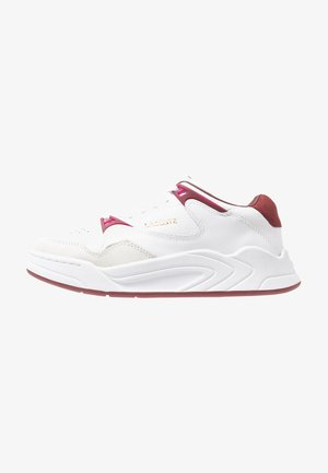COURT SLAM  - Sneakersy niskie - white/dark red