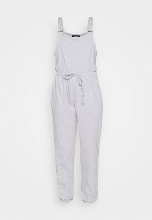 DUNGAREE JOGGER CUFF JUMPSUIT - Jumpsuit - grey