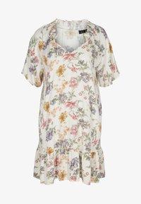 Zizzi - Day dress - creme vintage flower - 1