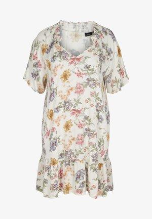 Day dress - creme vintage flower