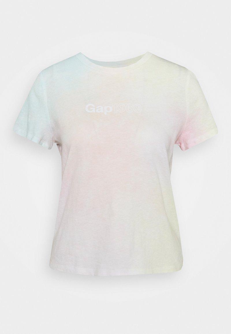 GAP - SHRUNKEN TEE - Print T-shirt - pink