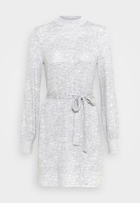Abercrombie & Fitch - BELTED COZY DRESS - Jumper dress - gray - 6