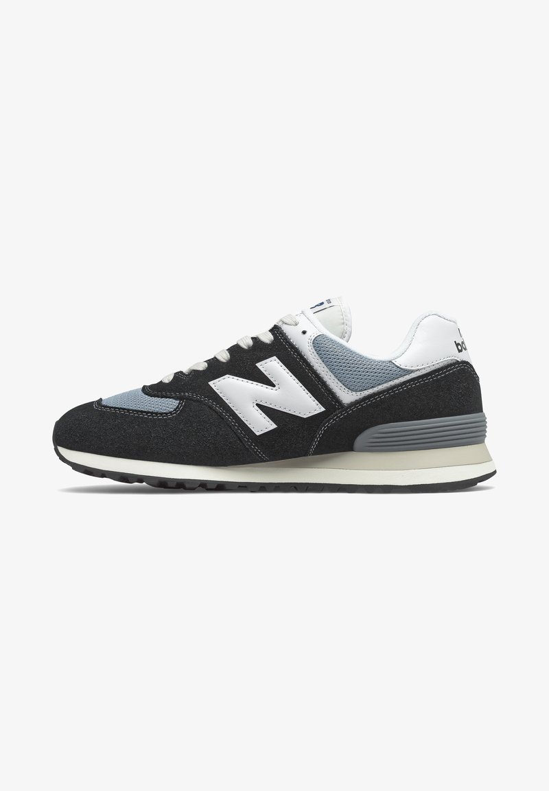 New Balance - Baskets basses - black/grey