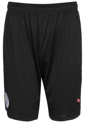 Sports shorts - puma black / georgia peach