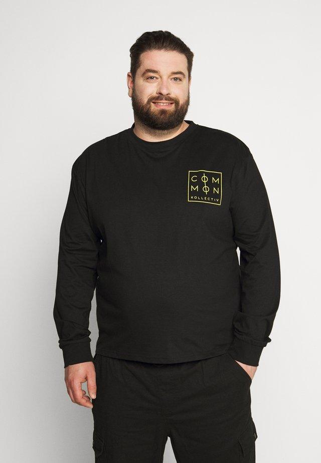 ZONE LONGSLEEVE - Maglietta a manica lunga - black