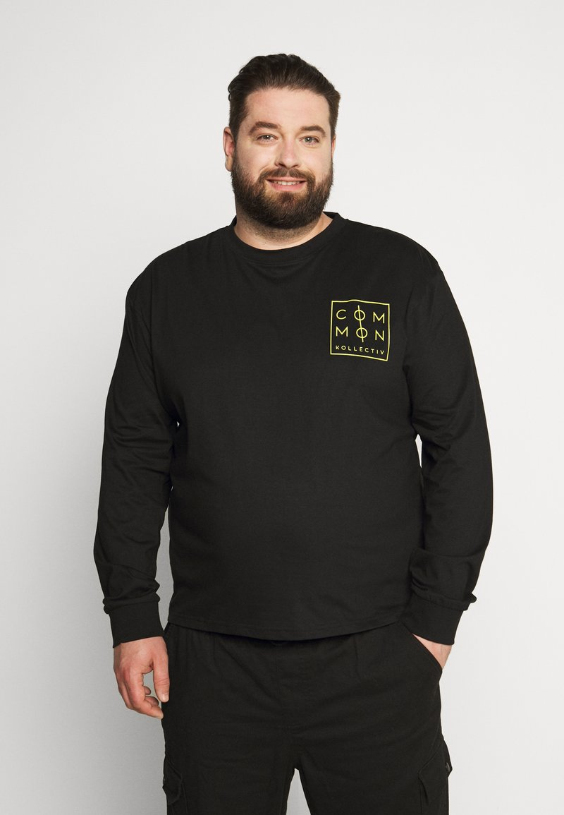 Common Kollectiv - ZONE LONGSLEEVE - Long sleeved top - black