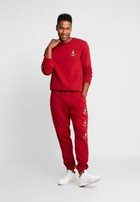Volcom - SANTASTONE CREW - Sweatshirt - deep red - 1