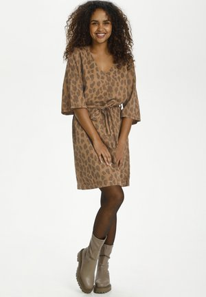 Day dress - toasted leo