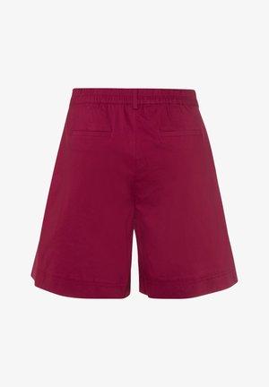 Shorts - dunkelrot