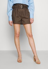 Morgan - SHOMY - Shorts - thym - 0