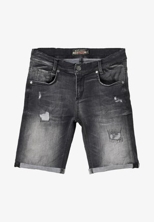 BOYS - Denim shorts - black medium