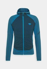 Dynafit - TRANSALPER LIGHT HOODY - Fleece jacket - mykonos blue - 0