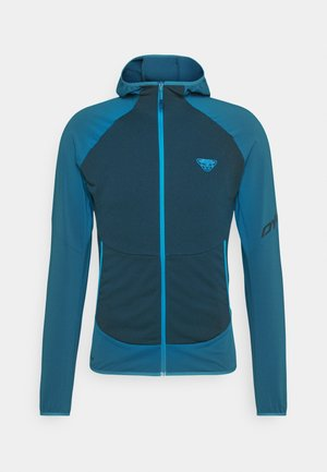 TRANSALPER LIGHT HOODY - Fleece jacket - mykonos blue