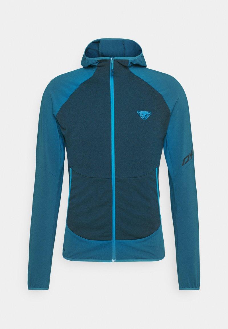 Dynafit - TRANSALPER LIGHT HOODY - Fleece jacket - mykonos blue