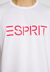 Esprit - 2 PACK - Print T-shirt - white - 5