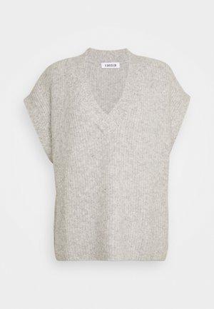 HILLA VEST - Pullover - grau