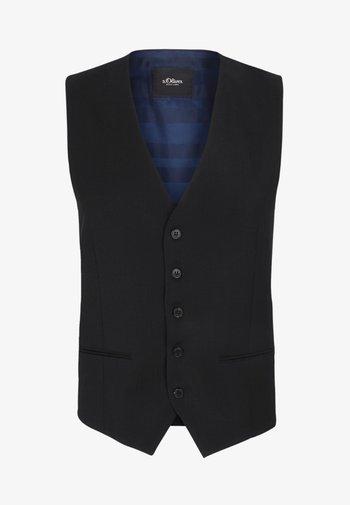 ELEGANTE  - Suit waistcoat - black