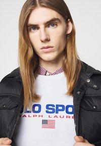 Polo Sport Ralph Lauren - LONG SLEEVE - Sweatshirt - white - 3