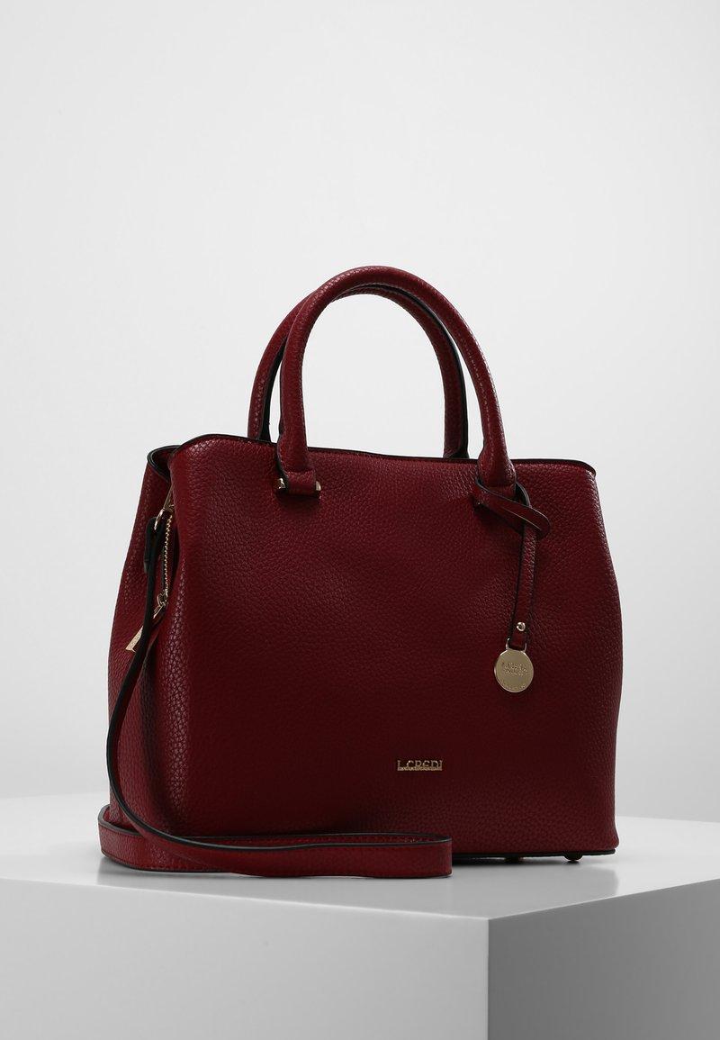 L. CREDI - MAXIMA HENKELTASCHE 28 CM - Handbag - rot