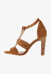 ANNA - High Heel Sandalette - camel