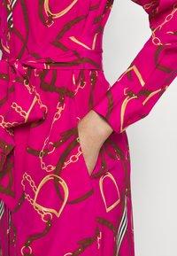 Lauren Ralph Lauren - DRESS - Skjortekjole - nouveau bright - 4